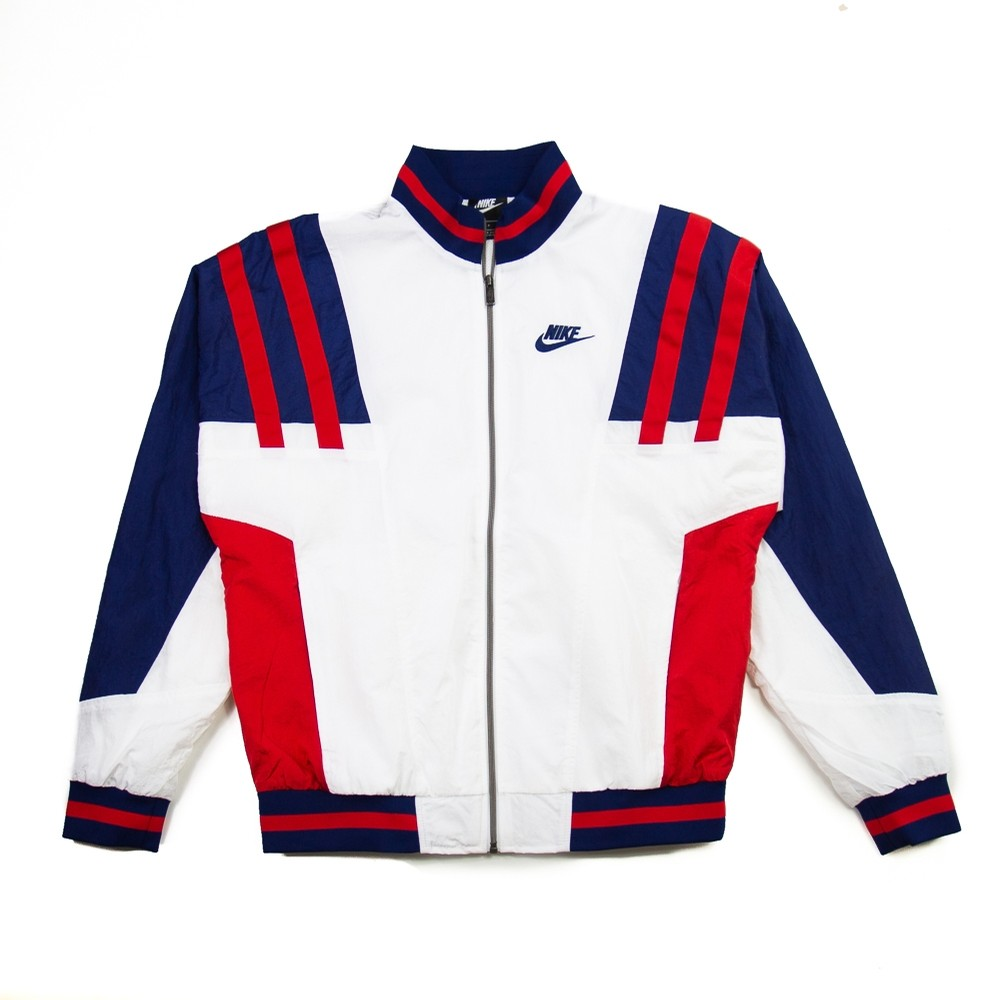 NSW Nylon Jacket (White/Blue Void/University Red)