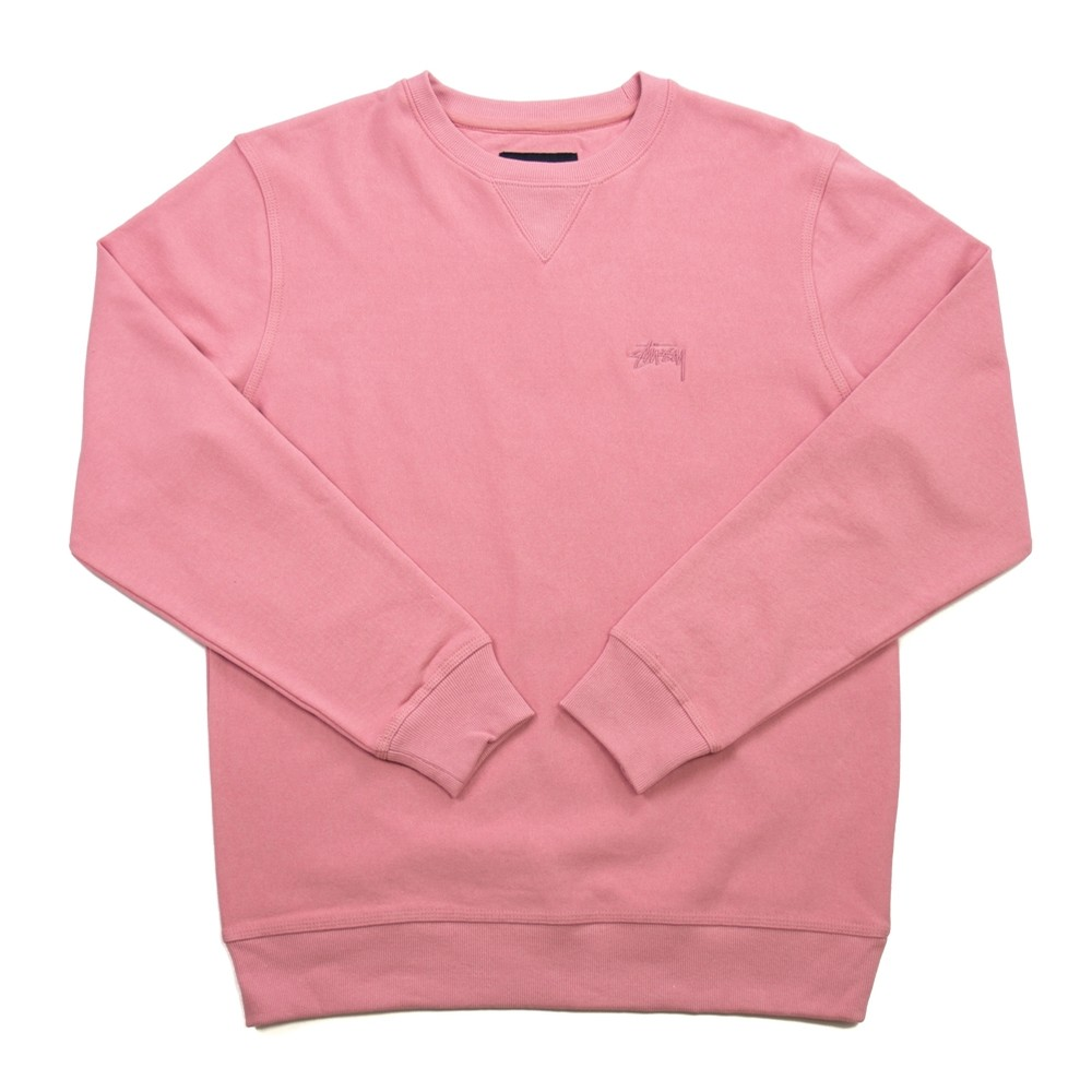 Stock LS Terry Crew (Pink)