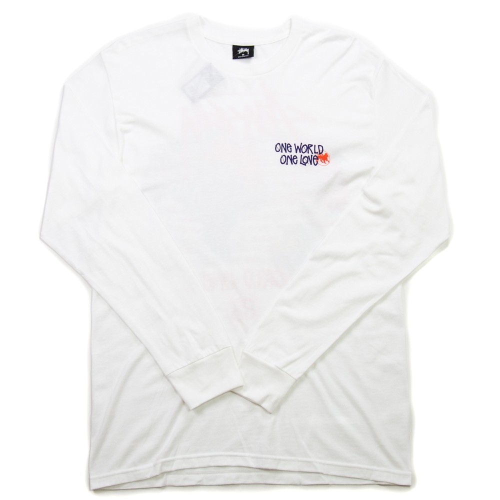 One World LS Tee (White)