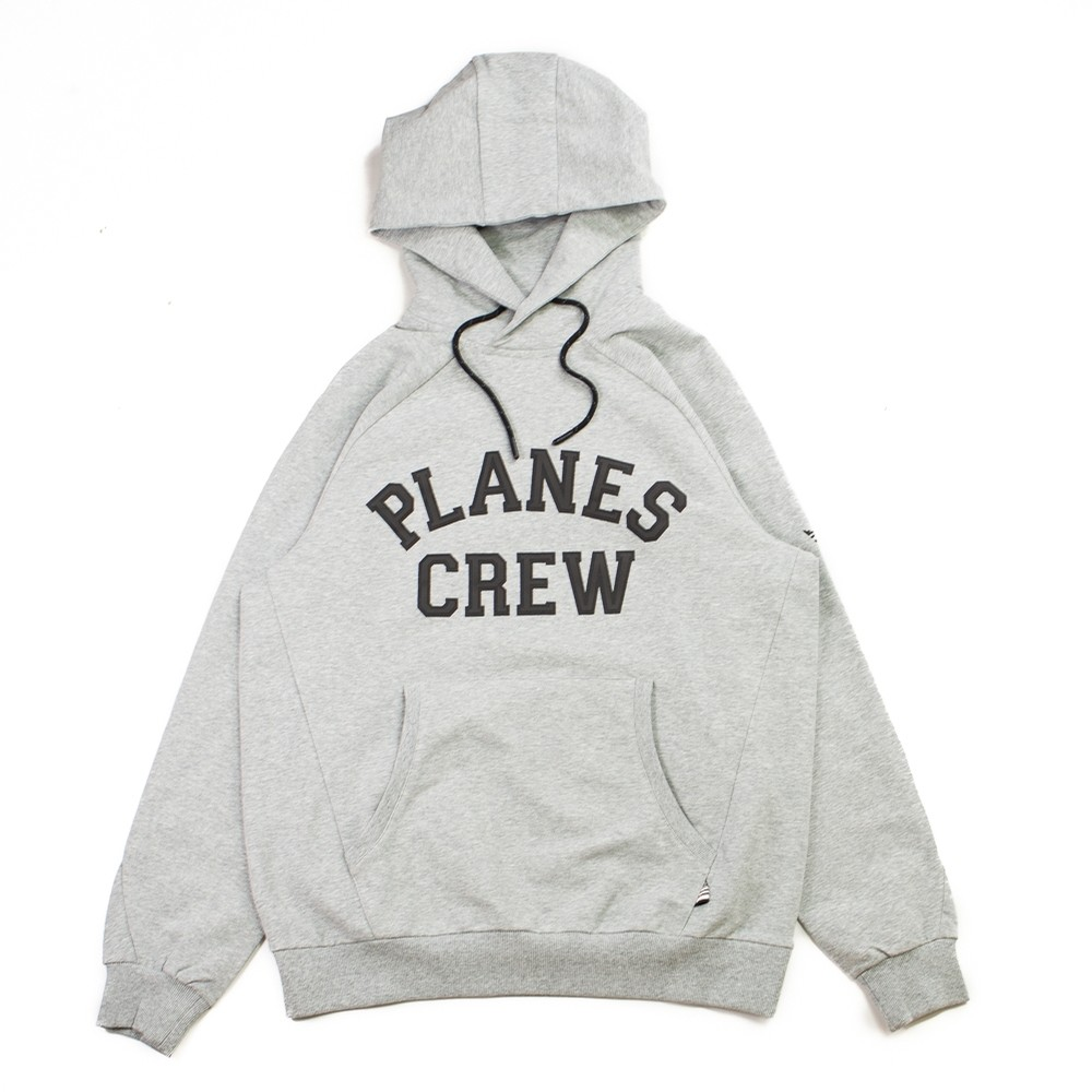 Planes Crew Hoodie (Heather Grey)
