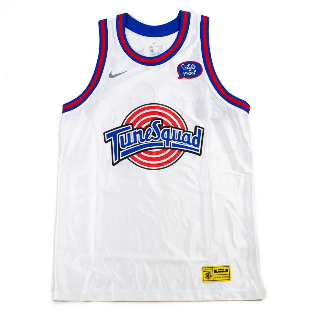 LeBron x Tune Squad Jersey (White/Cool Grey)