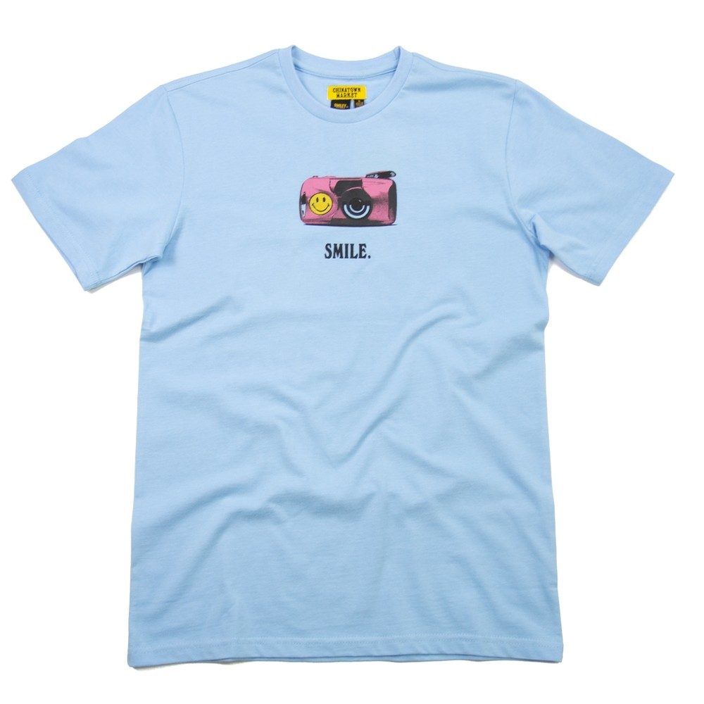 1Camera T-Shirt Smiley (Blue)