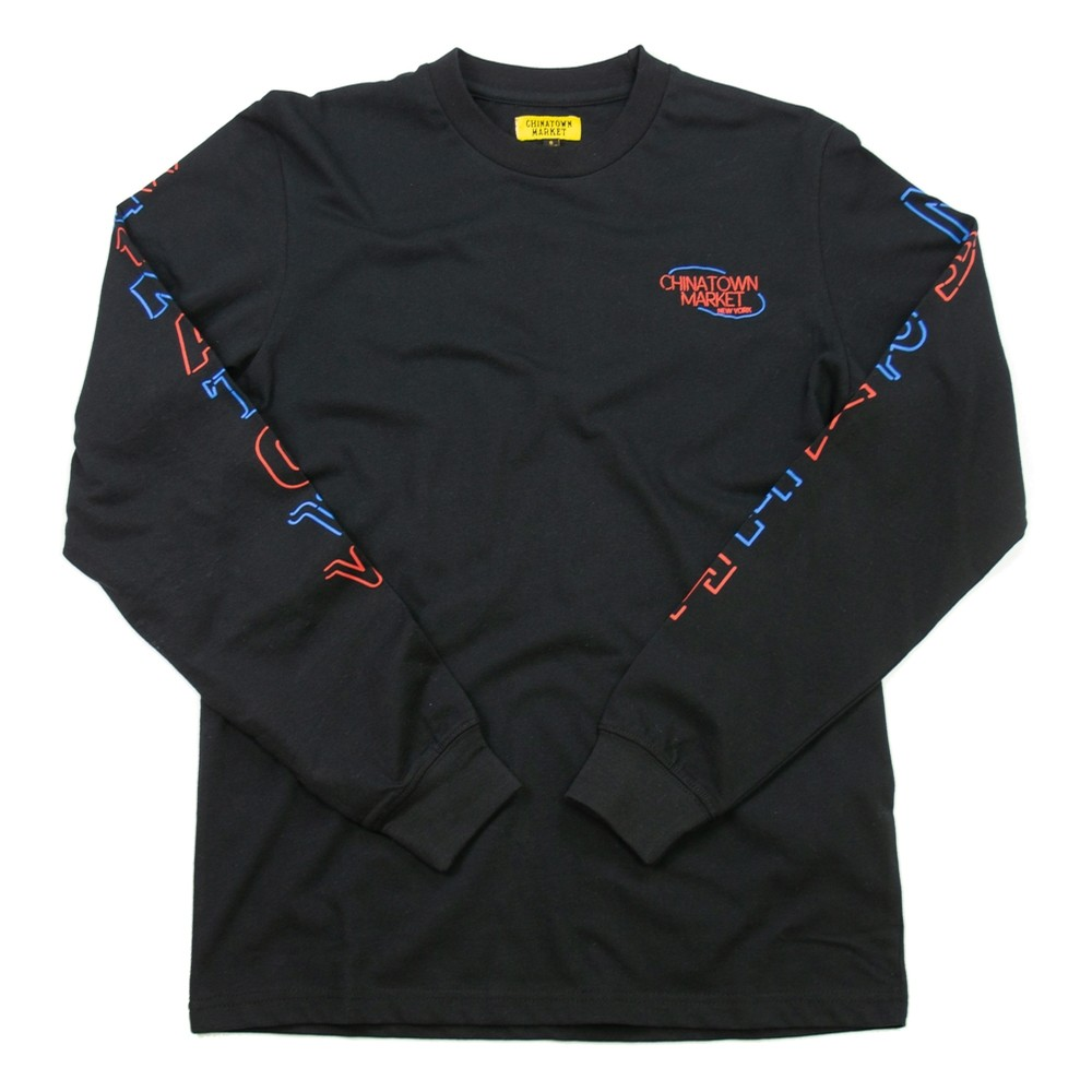Open Long Sleeve (Black)