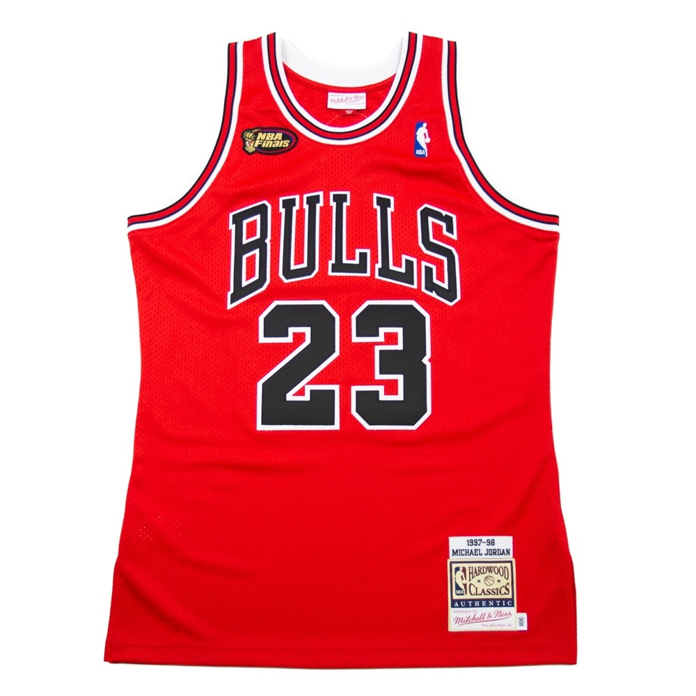 Chicago Bulls 97-98 Authentic Jersey (Michael Jordan)