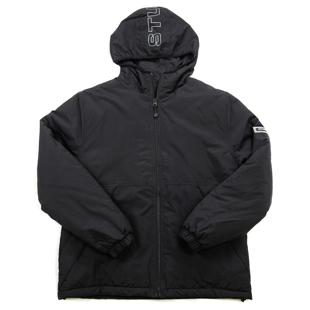 Insulated Hooded Jacket (Black)