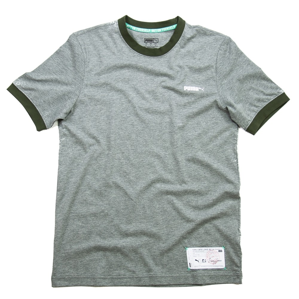 Puma Bet On Yourself Tee (Gray)