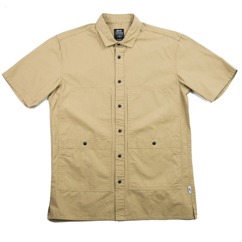 Ade Button-Up (Tan)