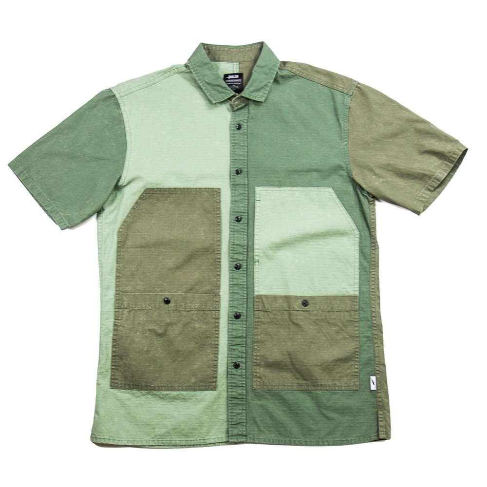 Lix Button-Up (Olive)