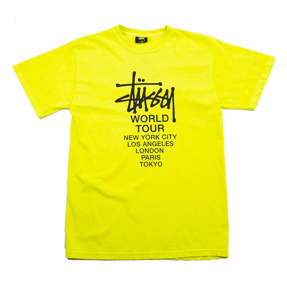 Tour Pigment Dyed Tee (Lime)