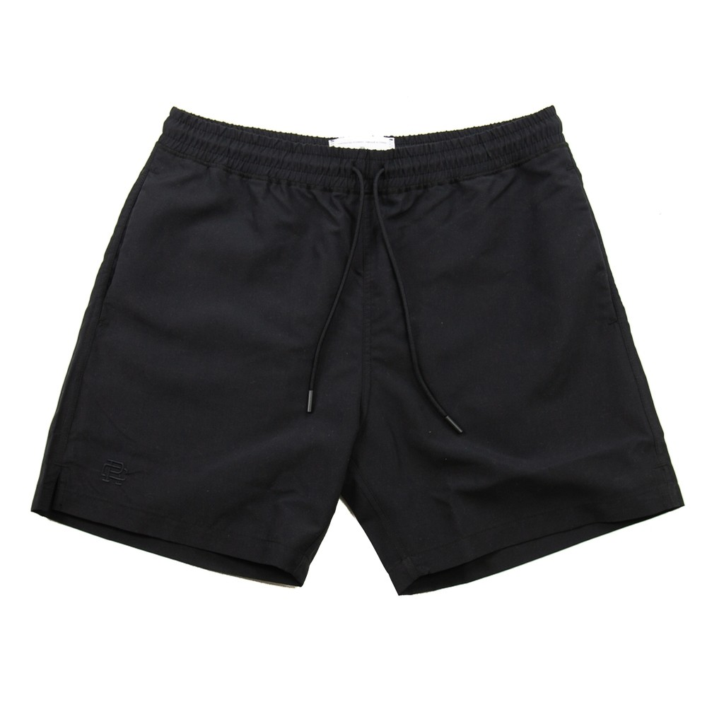 Woven Micro Fibre Swim Short (Black)