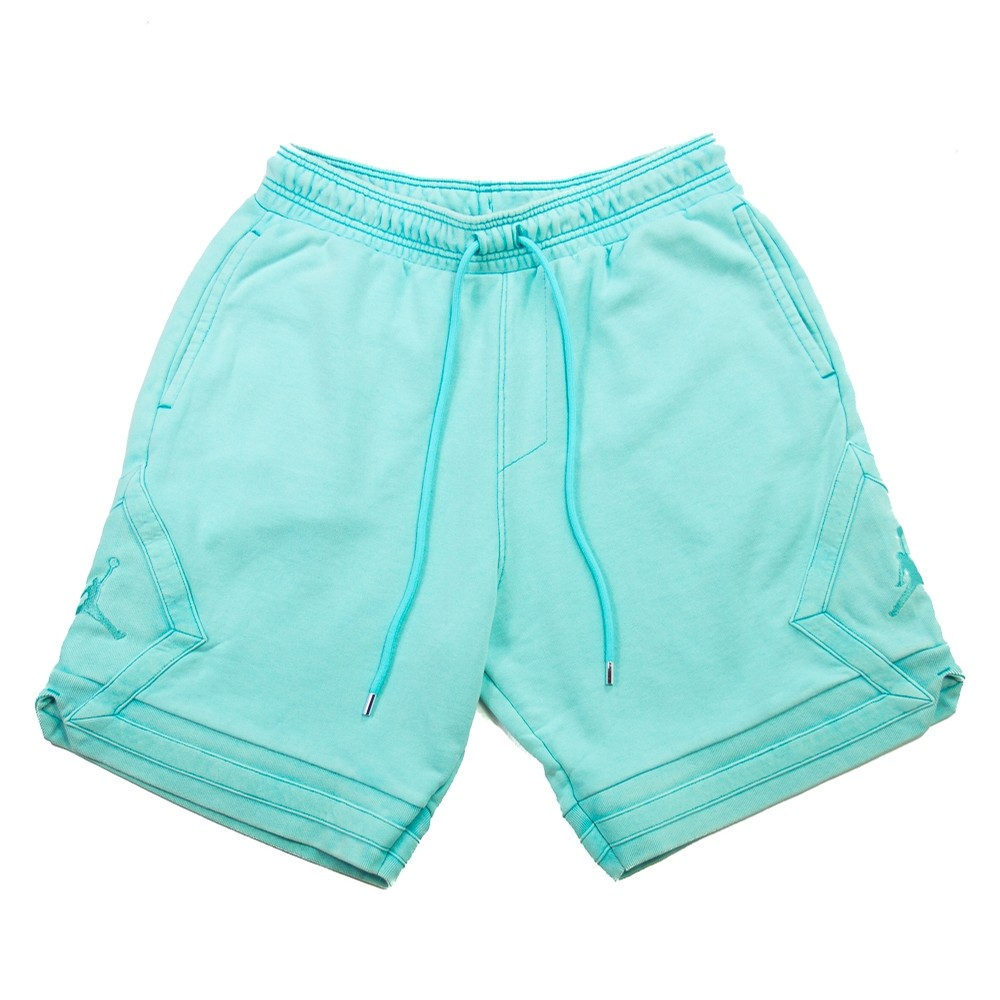 MJ Wings Washed Fleece Short (Light Aqua)