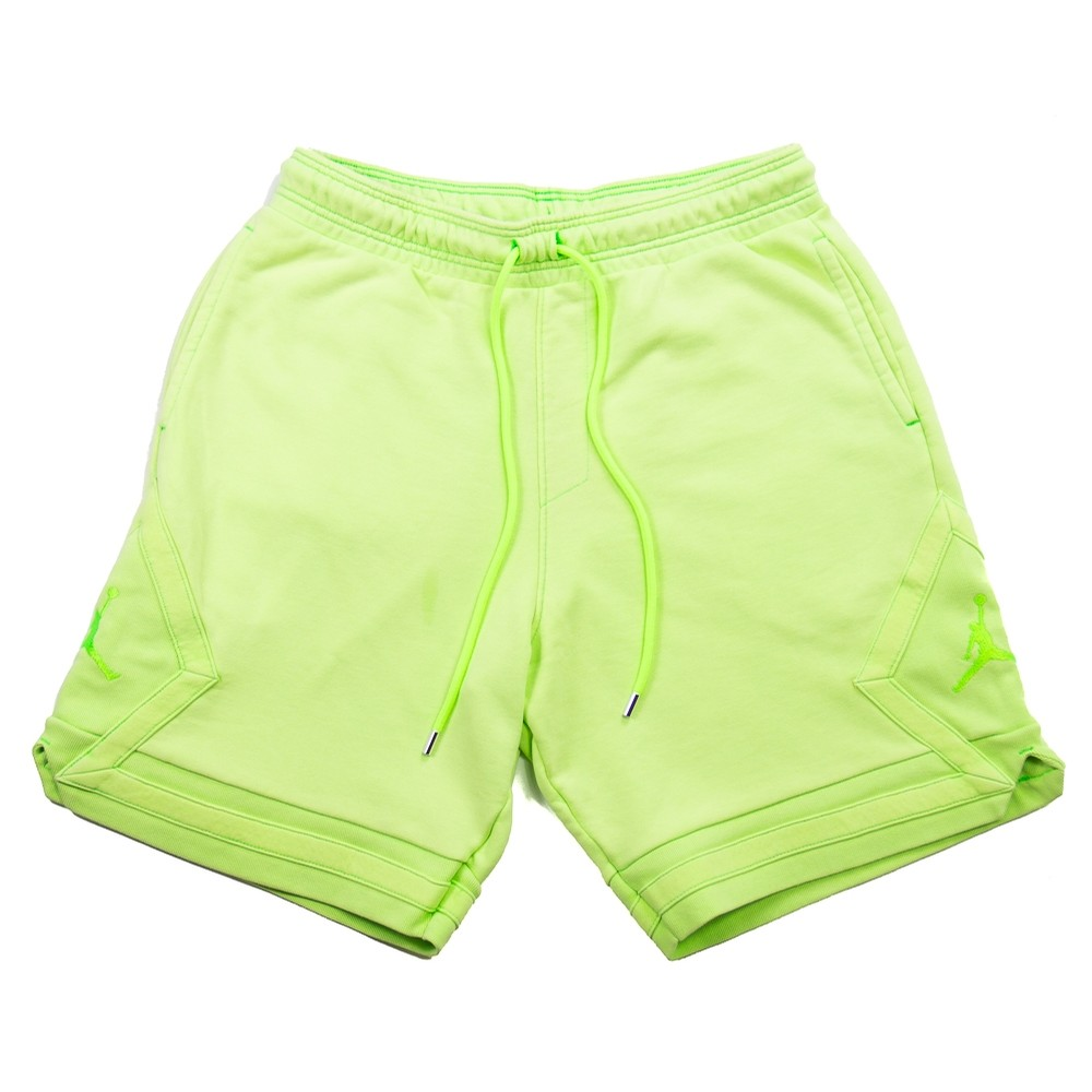 MJ Wings Washed Fleece Short (Ghost Green)