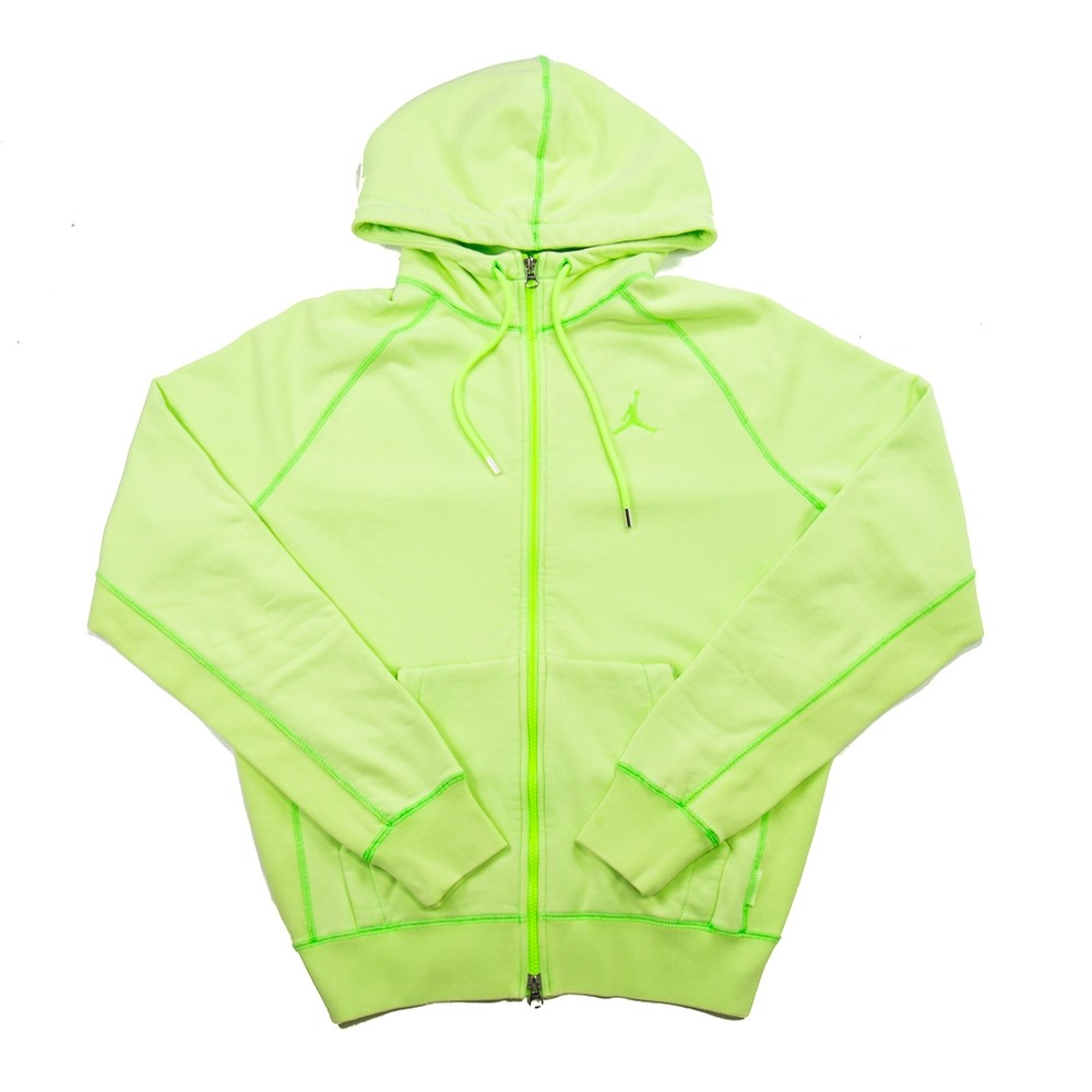 MJ Wings Washed Fleece Full Zip (Ghost Green)