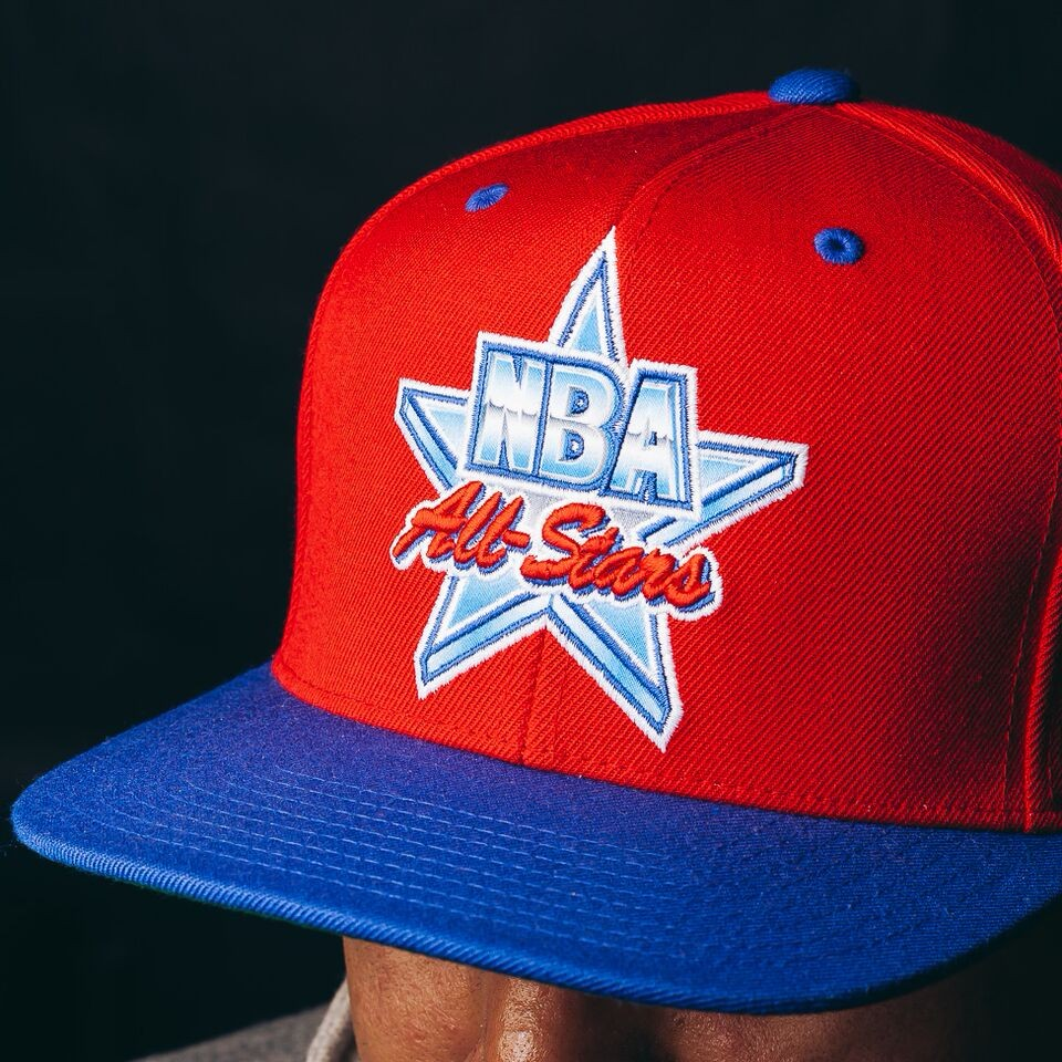 All Star Snapback (Red/Blue)