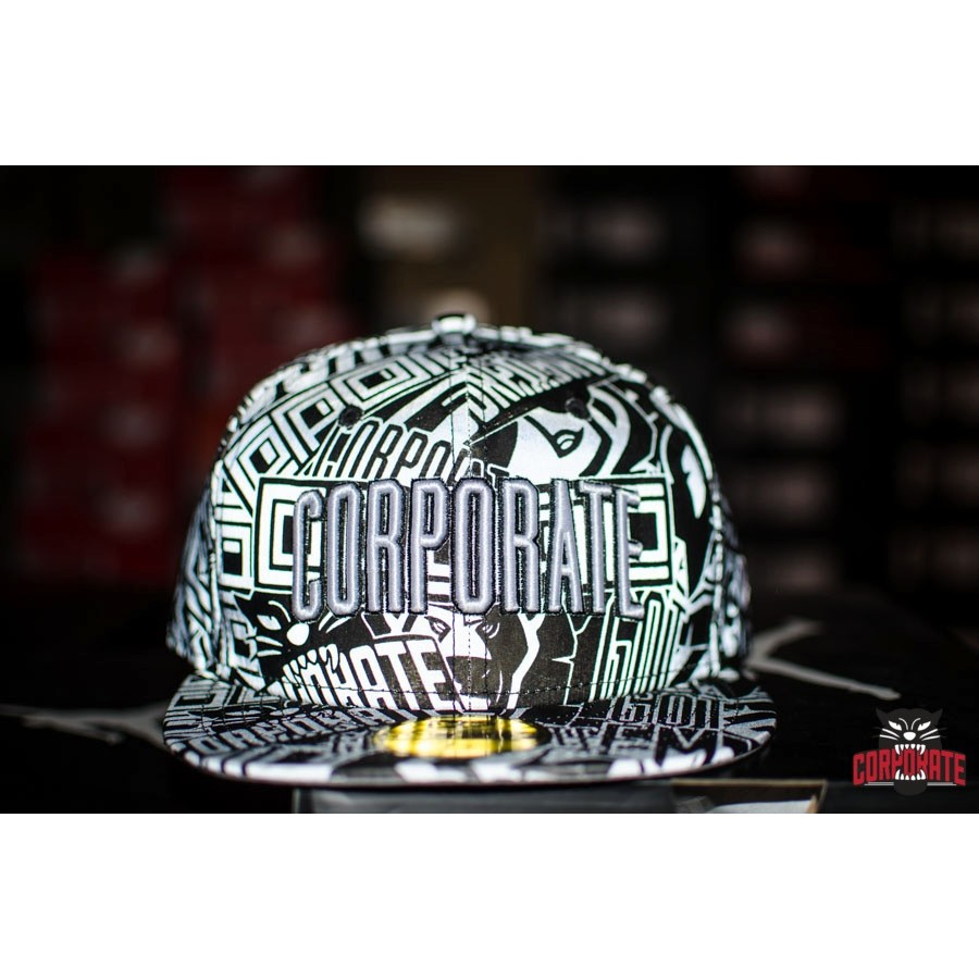 Corporate X New Era 3M Fitted (Silver)