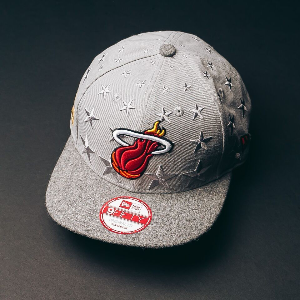 Miami Heat Strapback (Cashmere Thoughts)