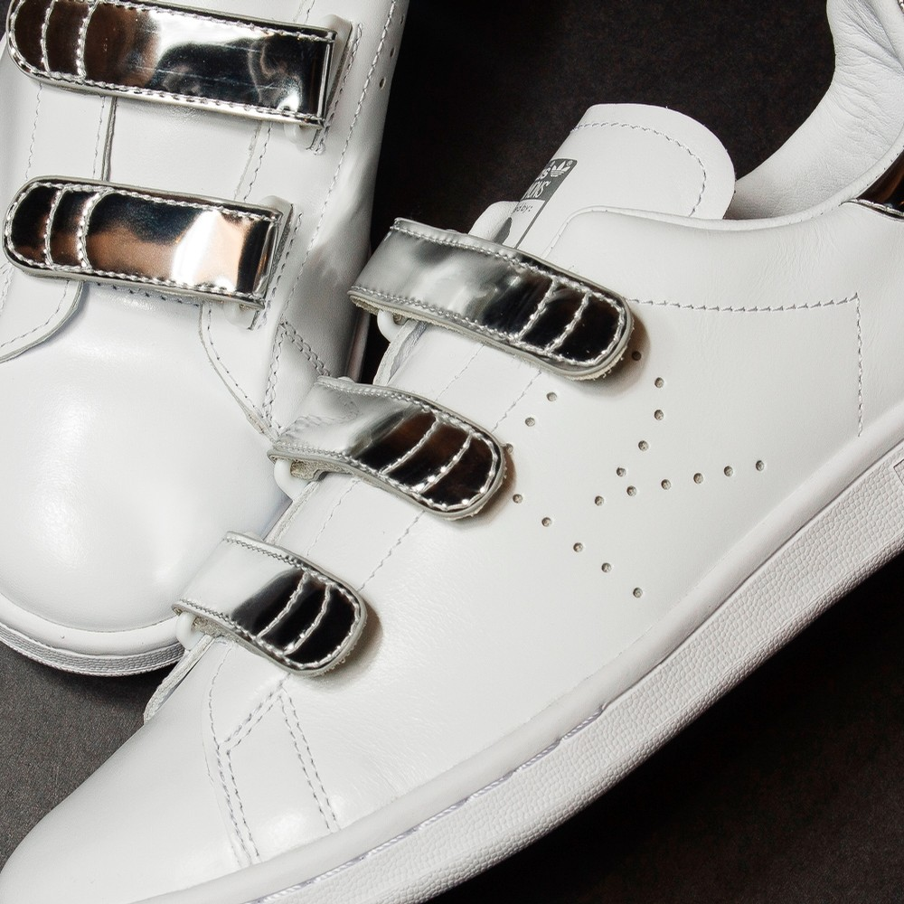 Raf Simons Stan Smith Comf (White/Silver)