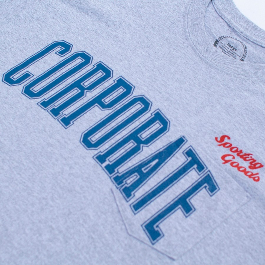Sporting Goods x Corporate Pocket Tee