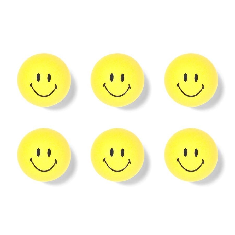 Chinatown Market Smiley Ping Pong Ball Set
