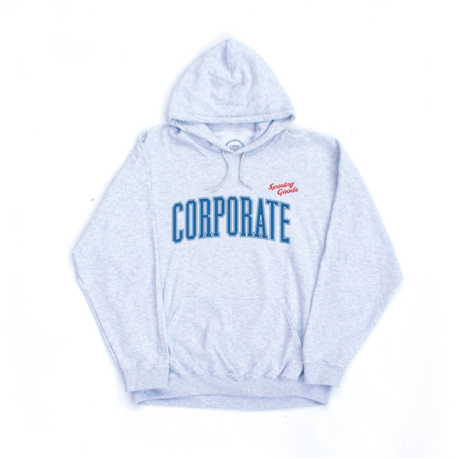 Sporting Goods x Corporate Hoodie (Grey)