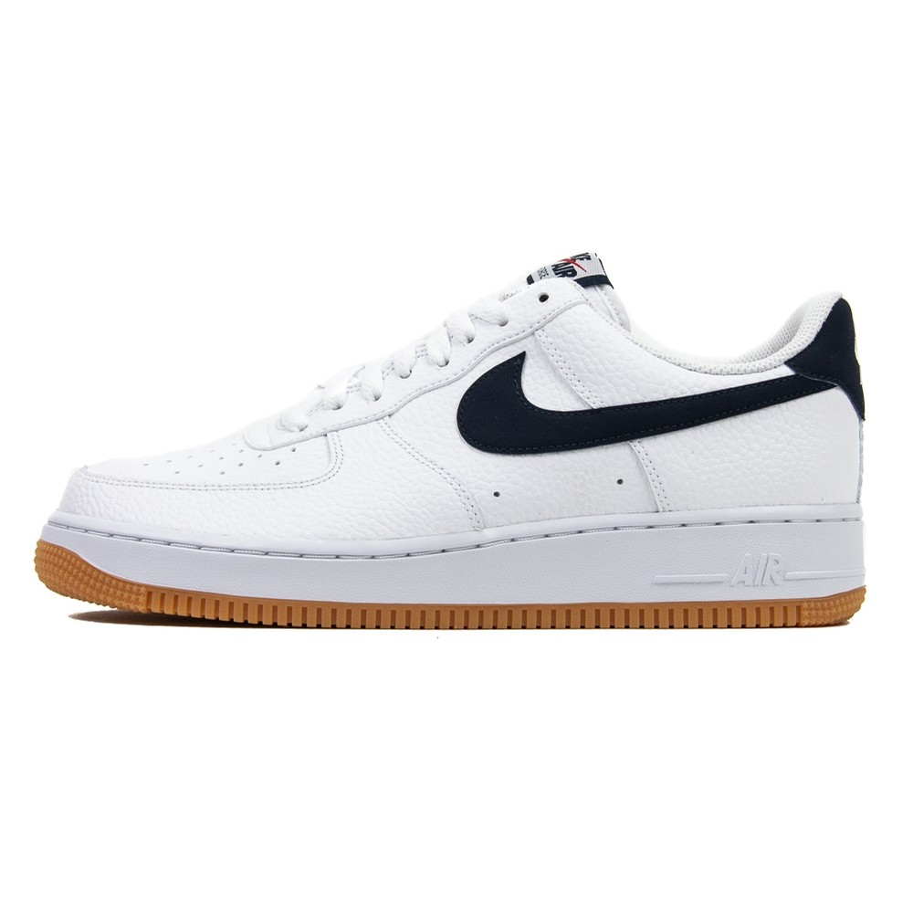 Air Force 1 07 2 (White/Obsidian/University Red)