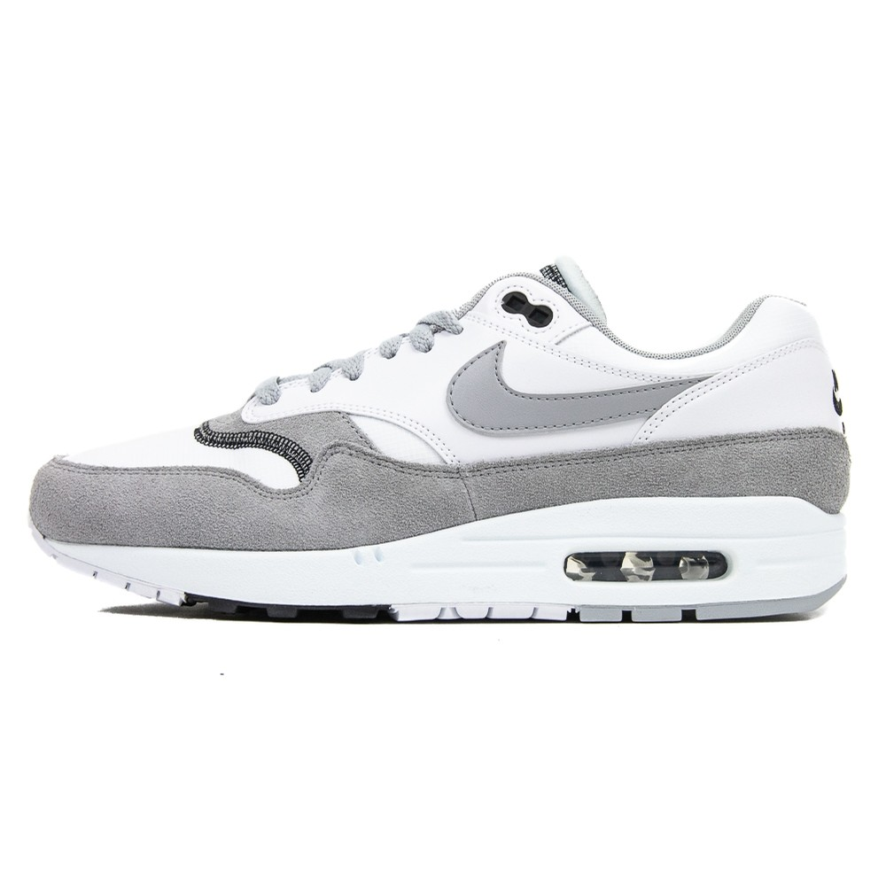 Air Max 1 (White/Wolf Grey/Black)