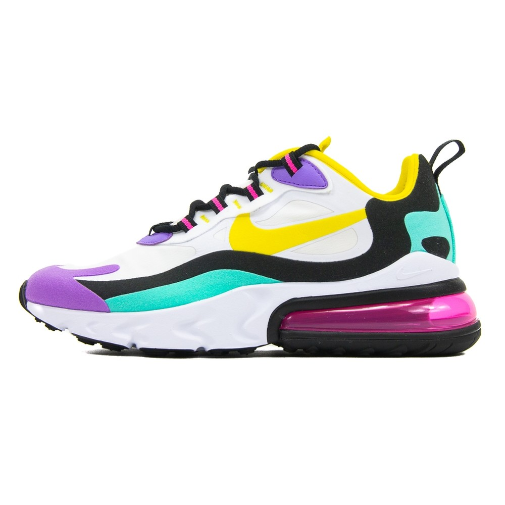 W Air max 270 React (white-Dynamite Yellow)
