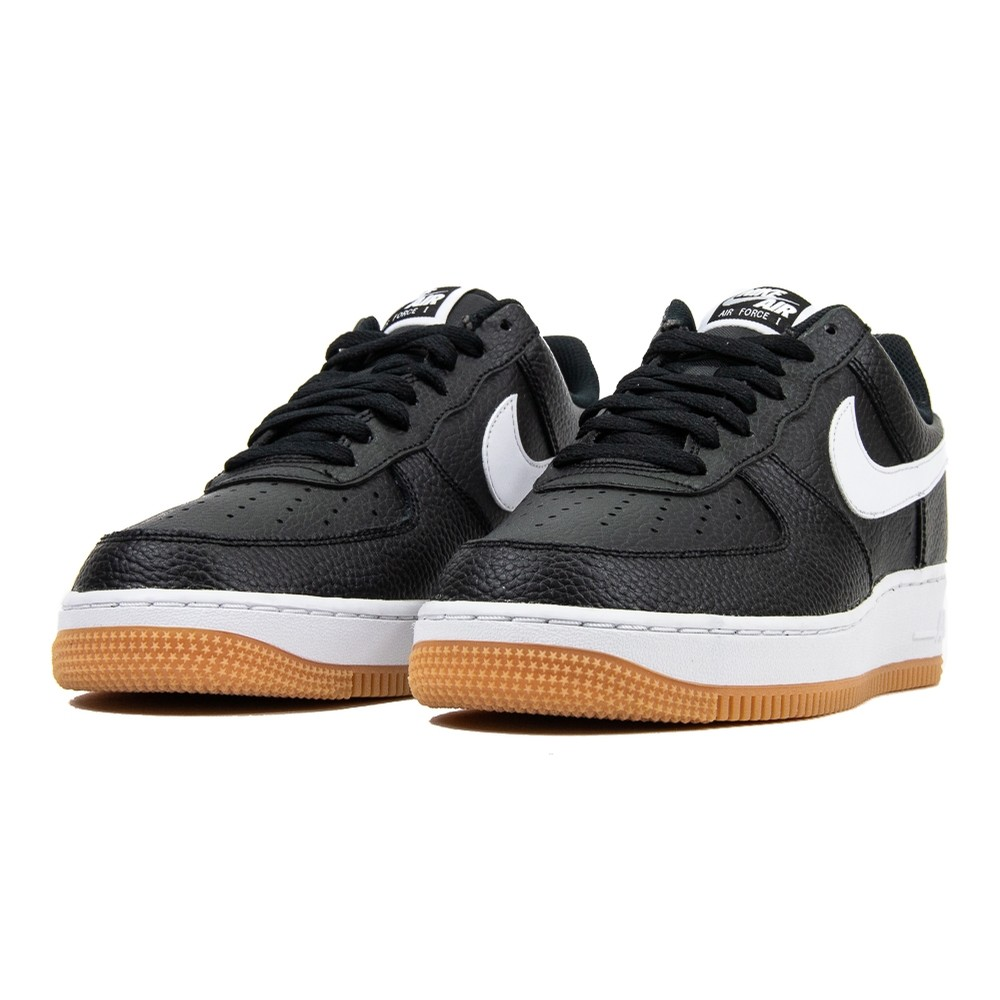NIKE Air Force 1 07 2 (black/white/gum)