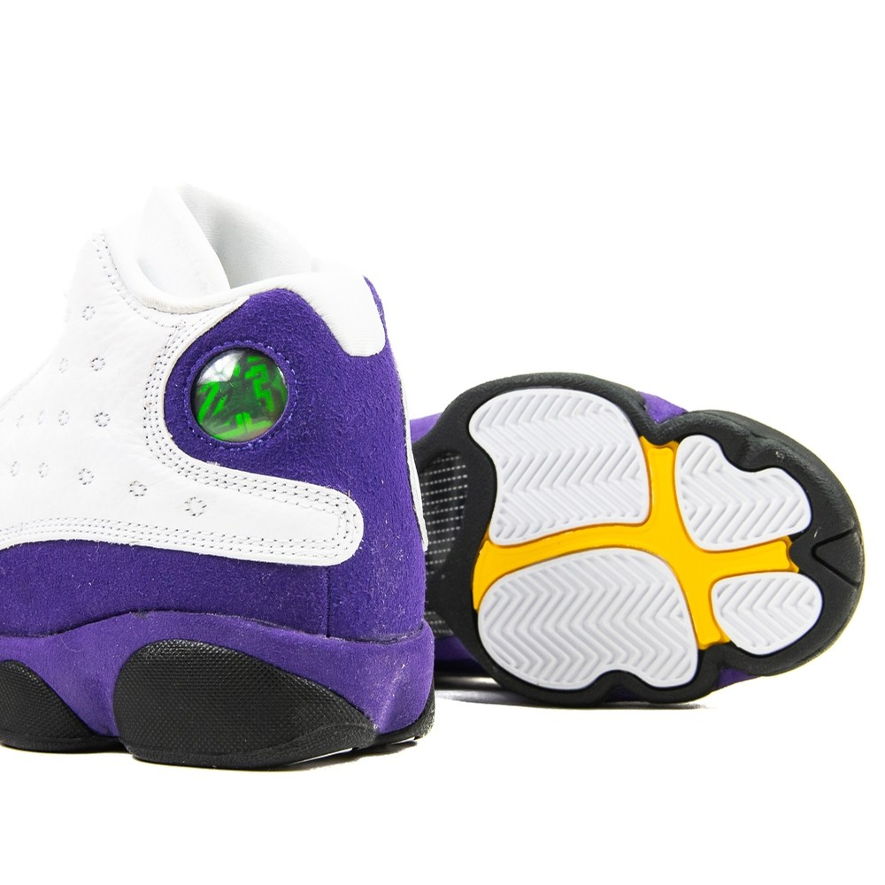 Air Jordan 13 GS (white/purple)