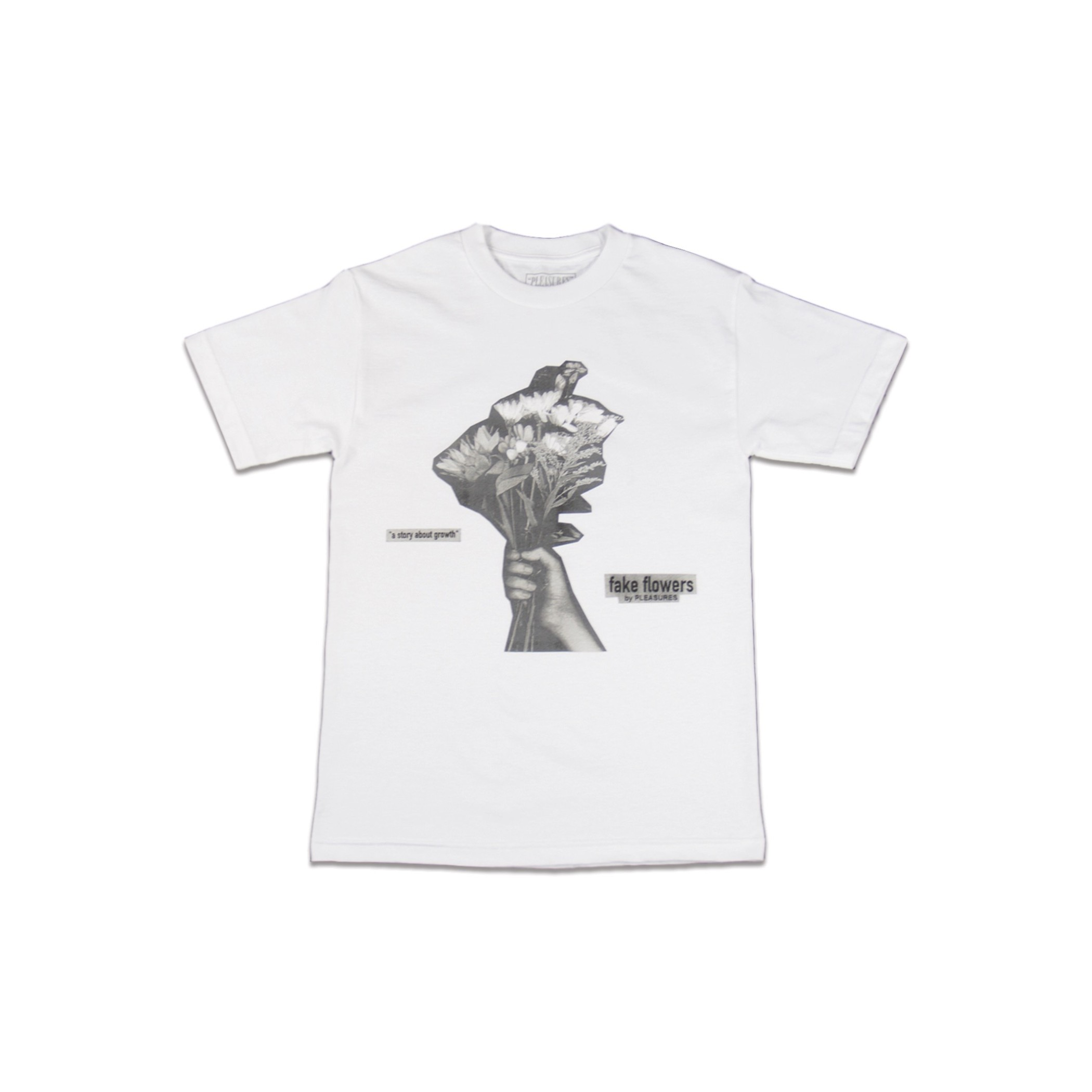Fake Flowers T-Shirt (White)