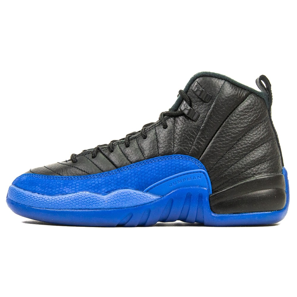 Air Jordan 12 Retro GS (Black/Game Royal)
