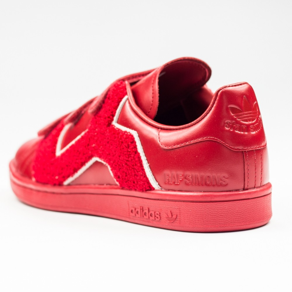 RS Stan Smith Comfort Badge (Red/Red)