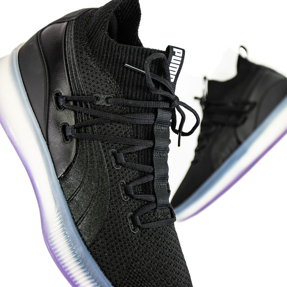 Clyde Court (Black/Purple)