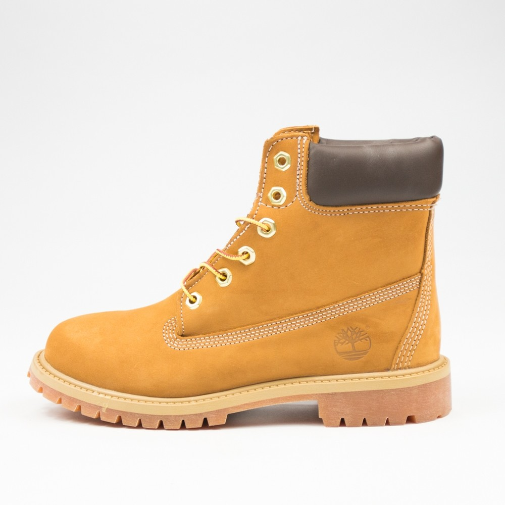 Timberland 6 Inch Premium Boot Kids (Wheat)