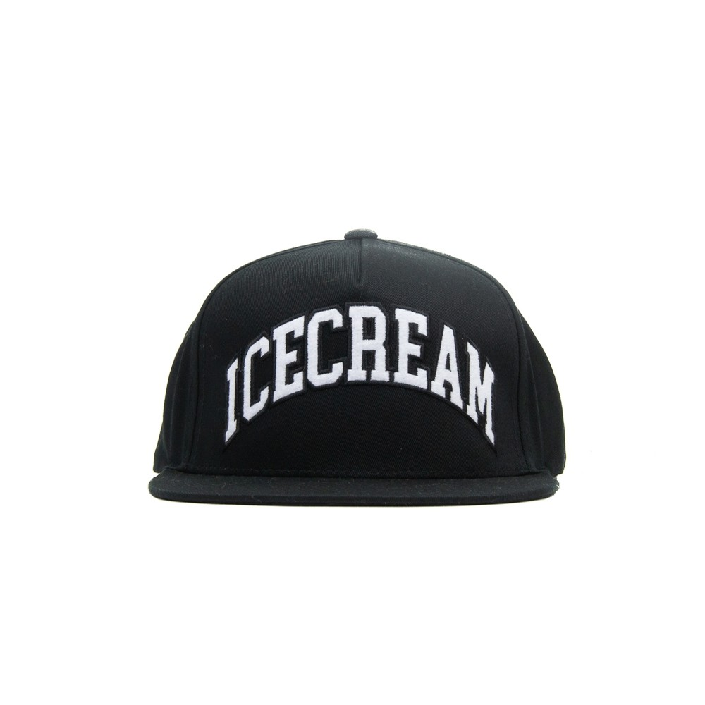 Icecream Snapback Hat (Black)