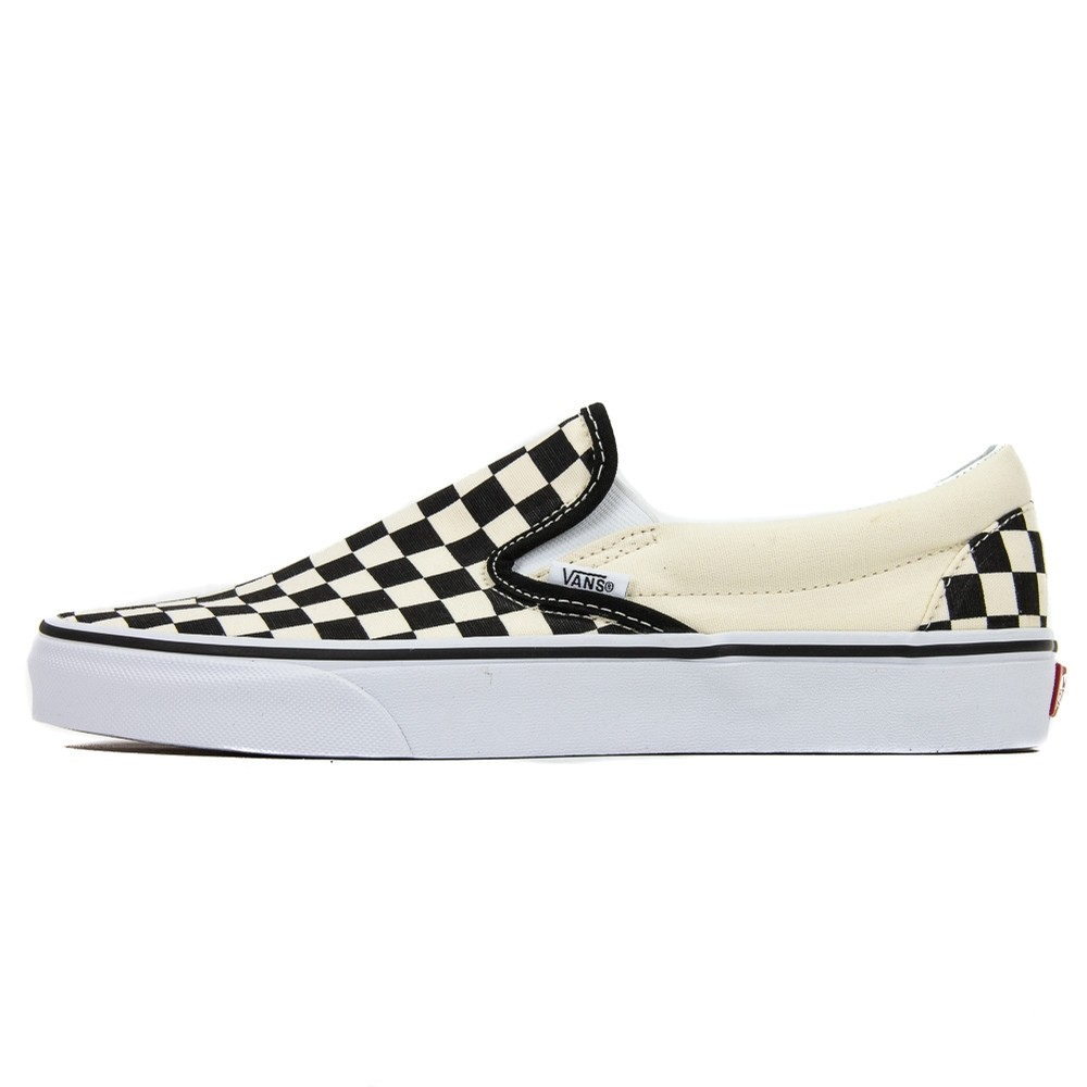 Checkerboard Slip On (Black/White)