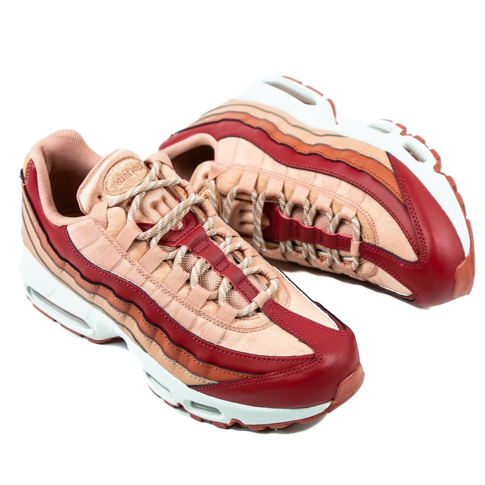 WMNS Air Max 95 (Crimson/Dusty Pink)