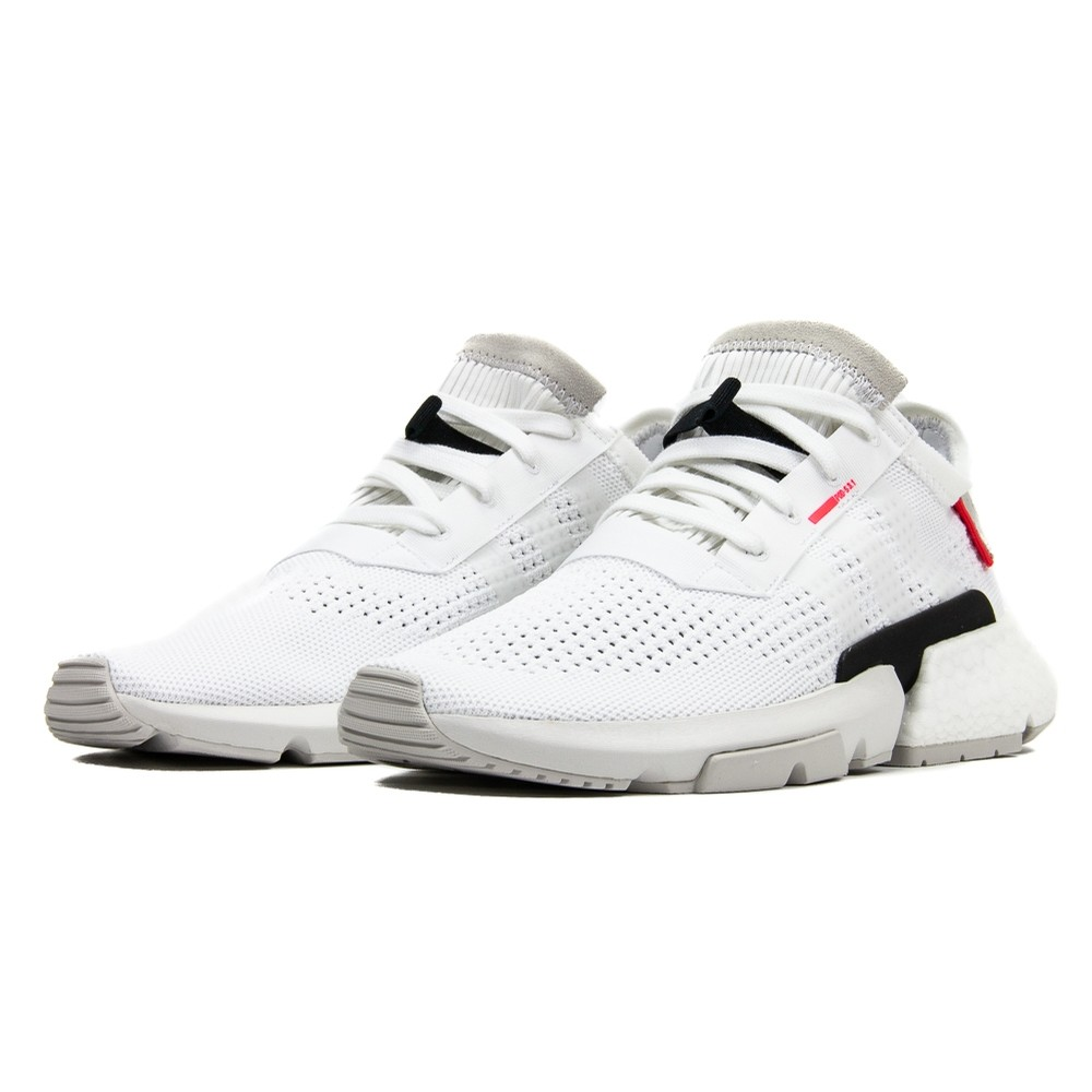 POD-S3.1 (Cloud White/Shock Red)