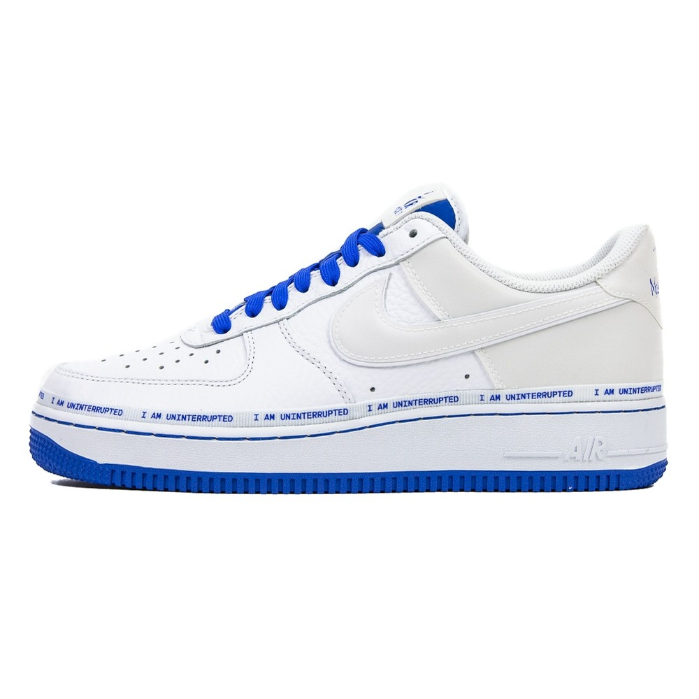 Air Force 1 07 MTAA QS (White/Black/Racer Blue)