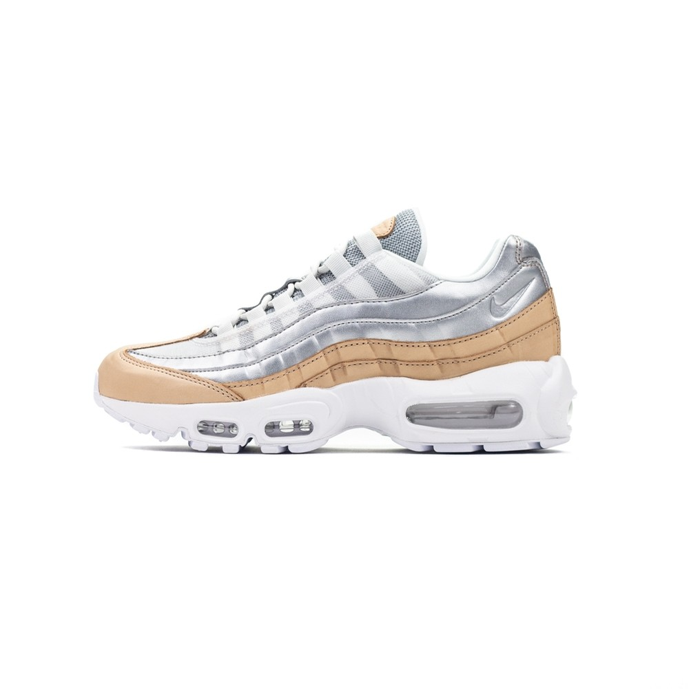 WMNS Air Max 95 SE PRM (Pure Platinum/Metallic Silver)