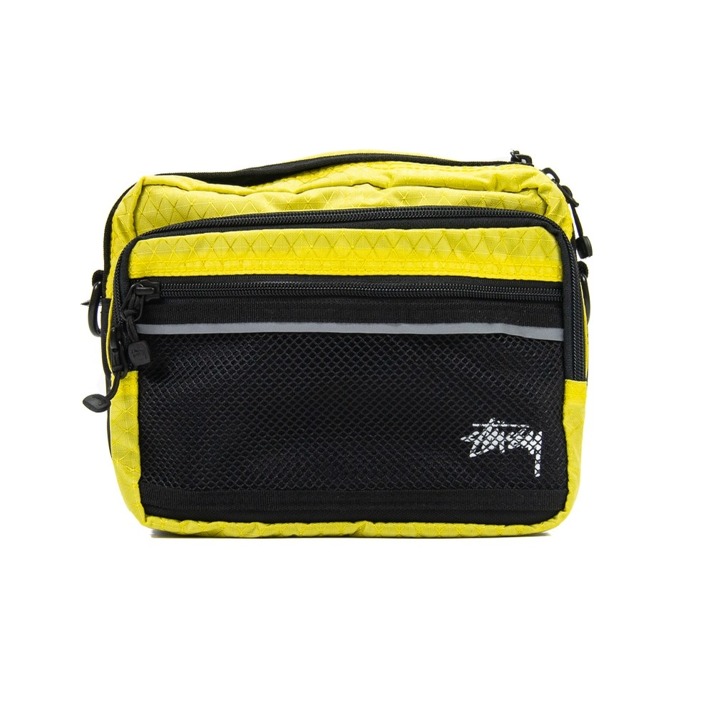 Diamond Ripstop Shoulder Bag (Lime)