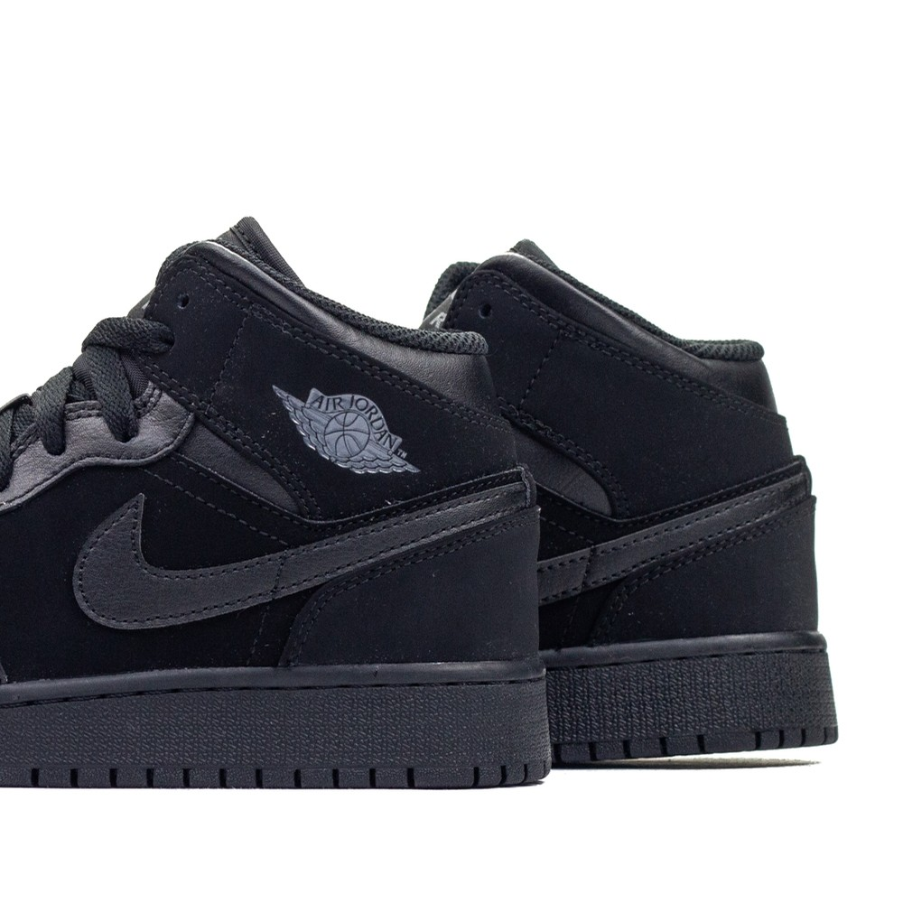 Air Jordan 1 Mid BG (Black/Dark Grey)
