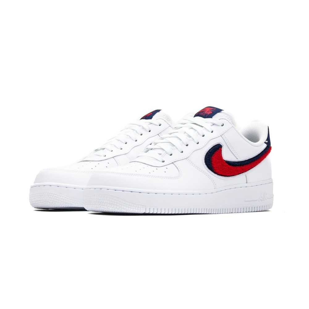 Air Force 1 '07 LV8 (White/University Red/Blue Void)