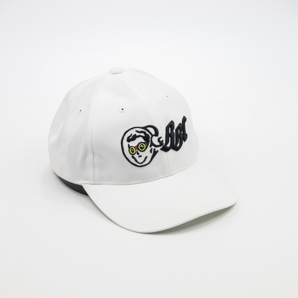 c9fbd9a955d2a Billionaire Boys Club OG Goggle Dad Hat (White) ACCESSORIES HATS at ...