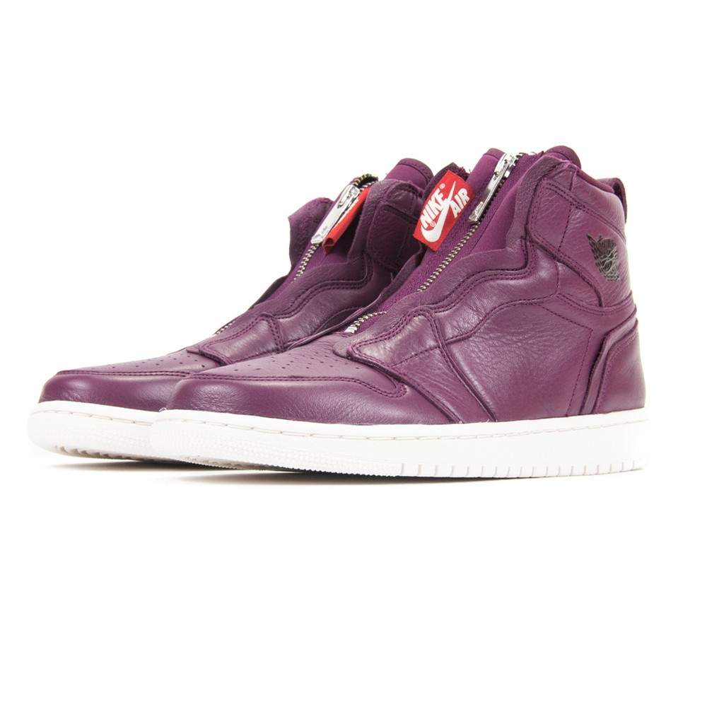 WMNS Air Jordan 1 Hi Zip Prem (Bordeaux/Black-Phantom)