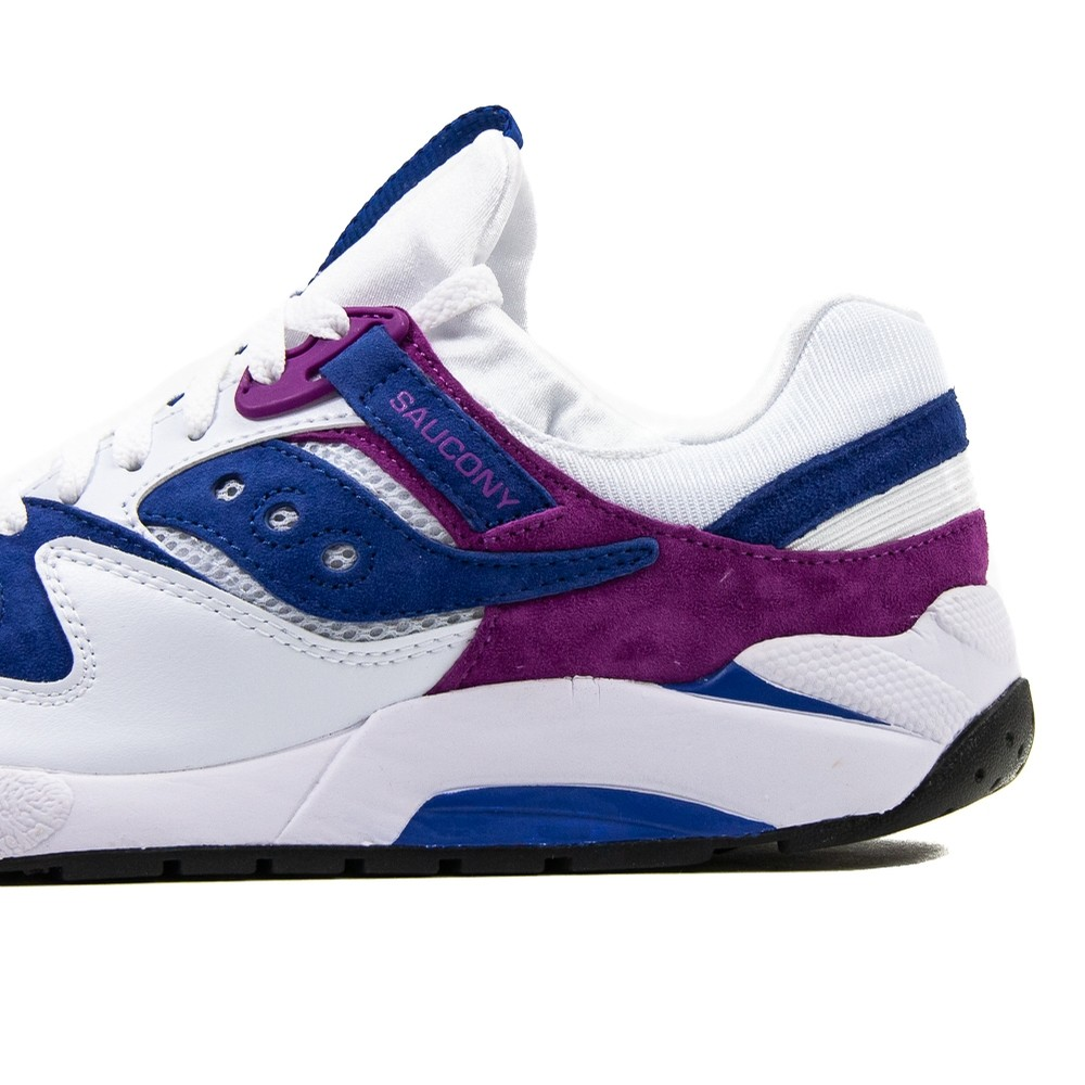 Grid 9000 (White/Purple)
