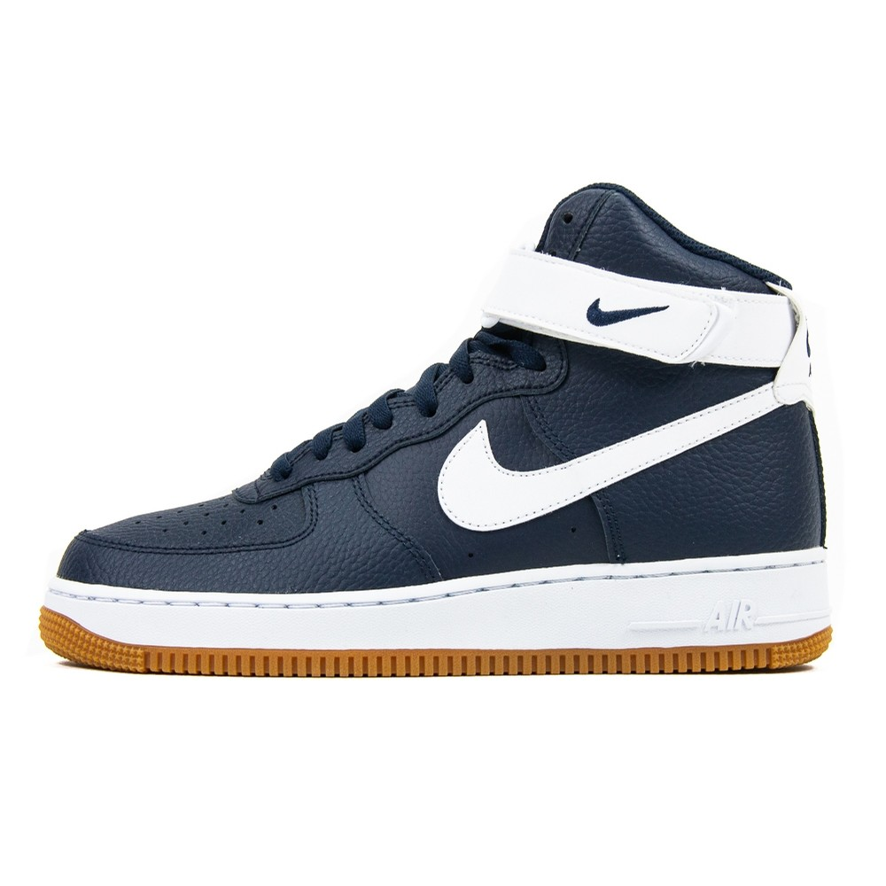 Air Force 1 High 07 2 (Obsidian/White)
