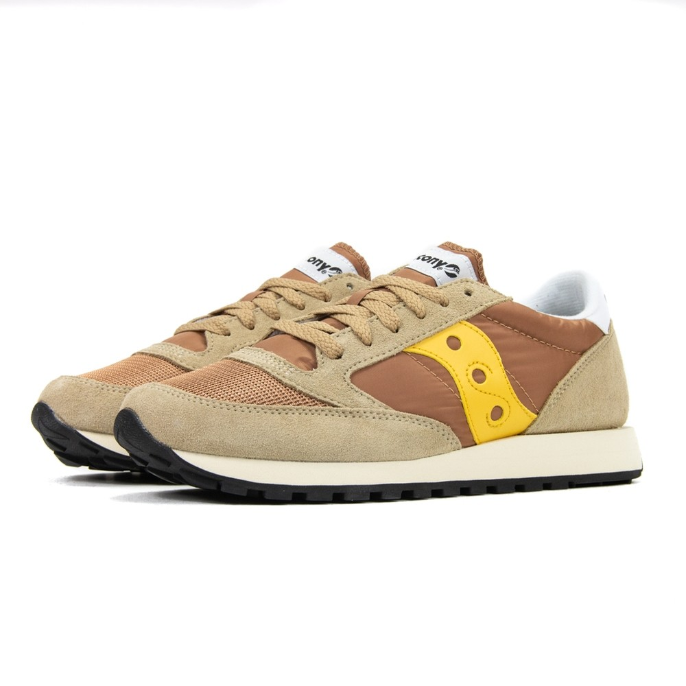 Saucony Jazz Original Vintage (Tan/Yellow)