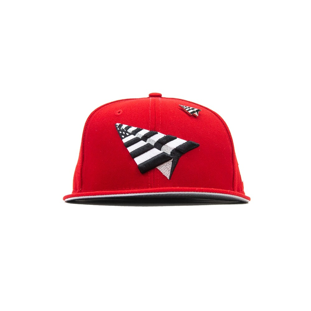 Crown Fitted Cap (Crimson)