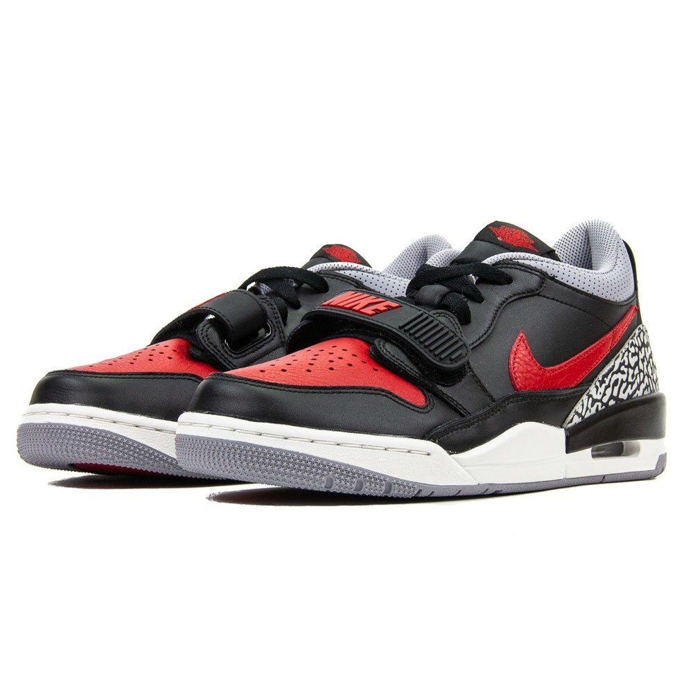 Air Jordan Legacy 312 Low (Black/Varsity Red)